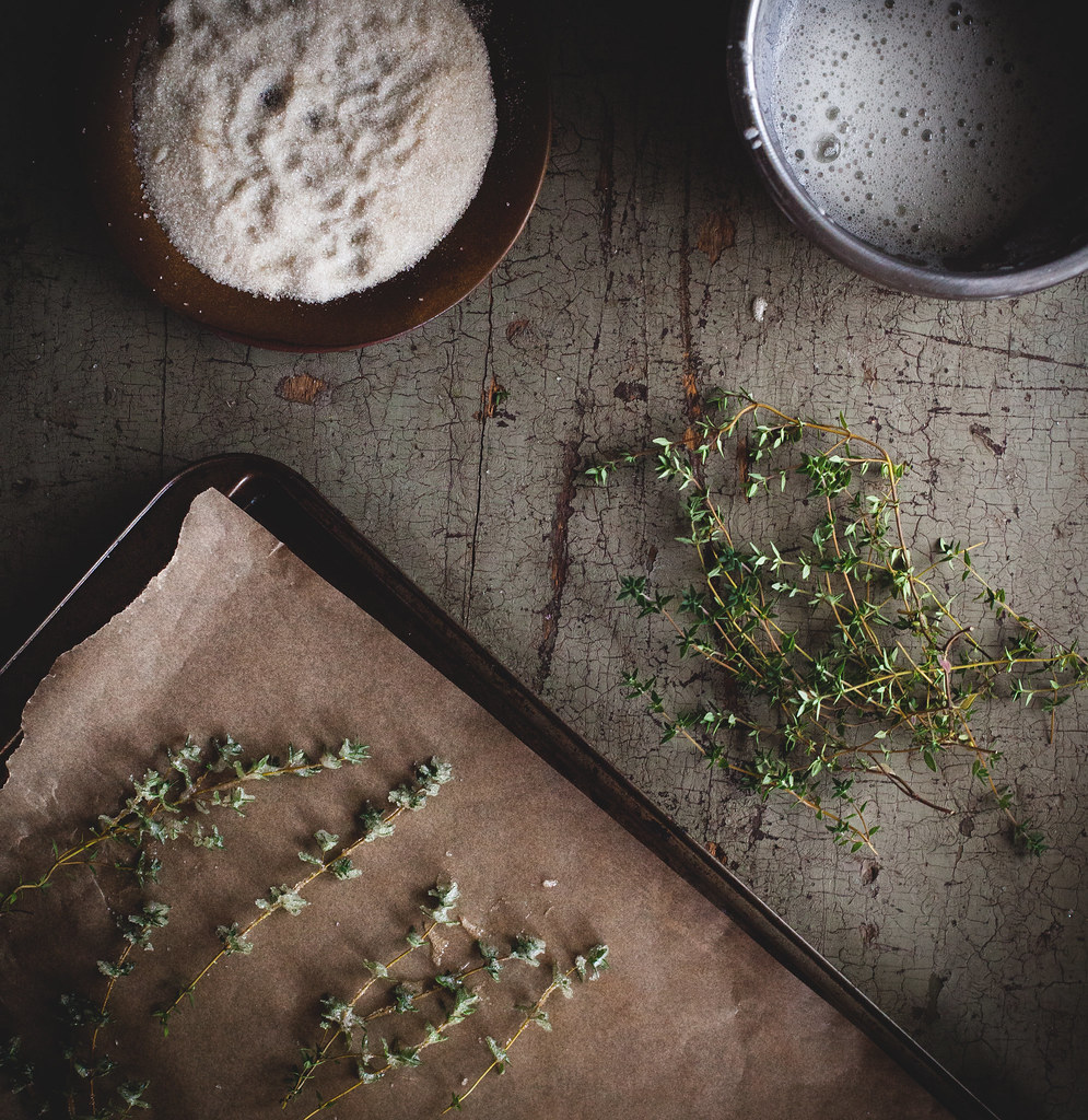 Candied Thyme