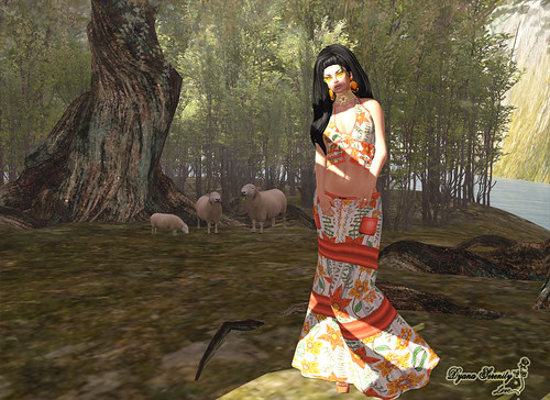 Orange nature by Dyana Serenity Blogger Second Life *Thanks to all