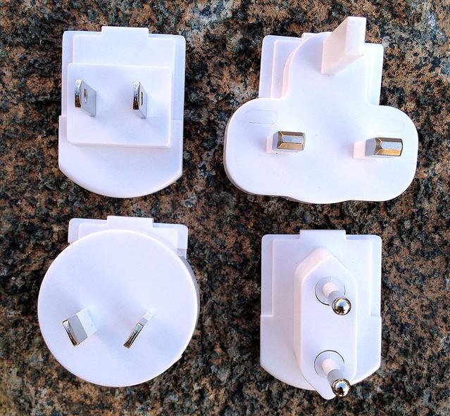 World Traveler Universal Plug Adapter - White - 2