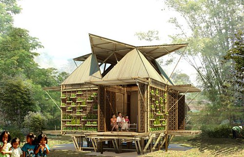 Casas de Bambú Ecológicas y Sostenibles