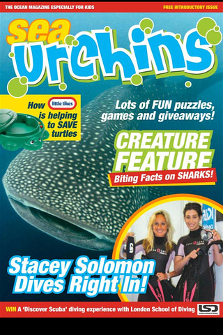 Sea Urchins magazine cover