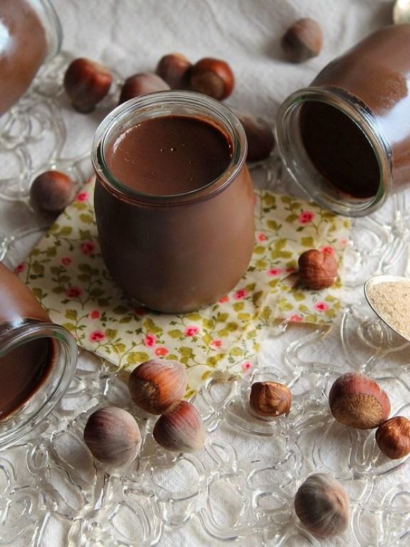 Recette Petits pots de crème chocolat-noisette