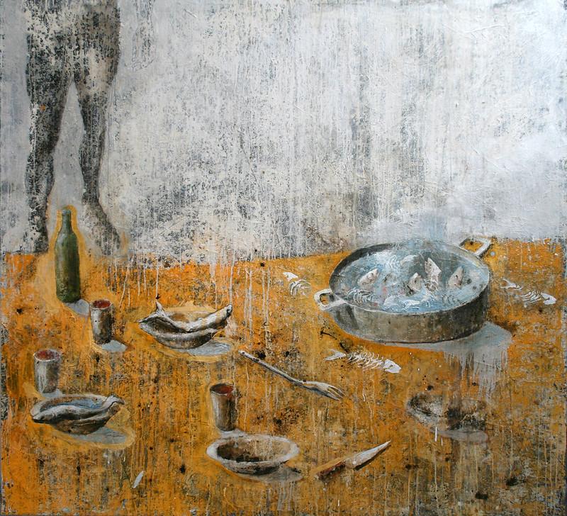 Moby Dick, Esteban Ruiz, Soupe de Poisson. 12.600€, 200 x 210cm