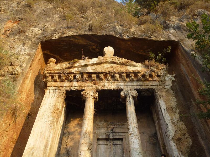 Turquie - jour 15 - Fethiye - 043 - Tombeau d'Amyntas