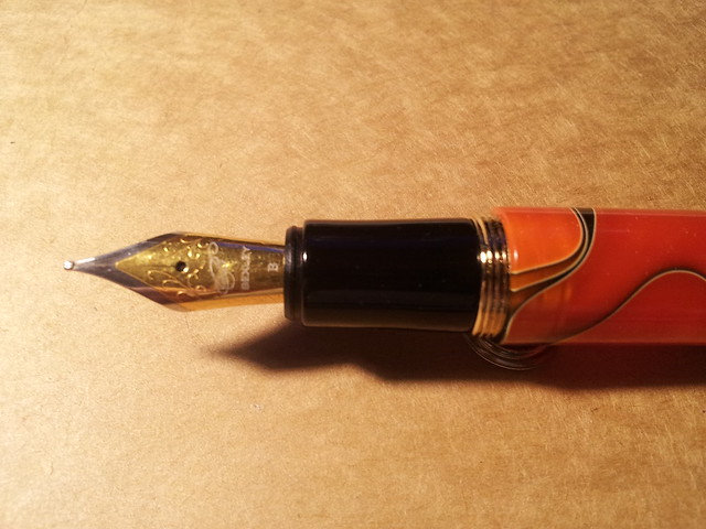 Number 6 nib in the Wancher Naranja