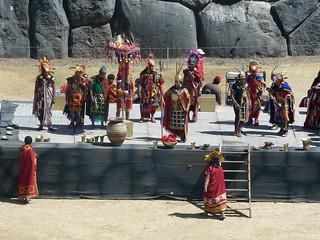 Sacsayhuamán - Ceremonia Warachicuy