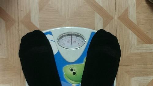 my weight!