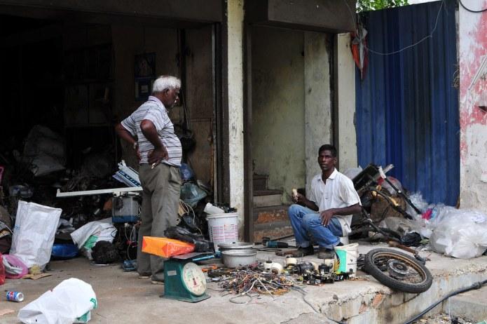 indian men at work