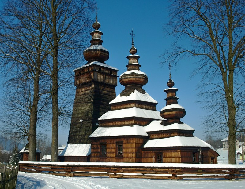 Iglesias de madera Polonia