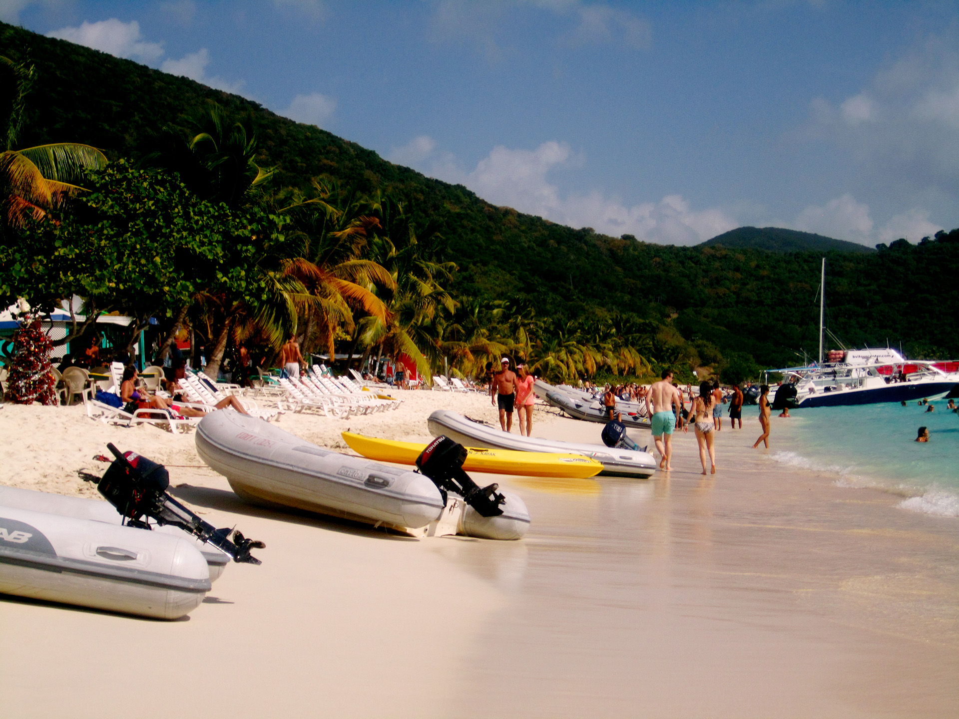 White Bay Beach on Jost Van Dyke.