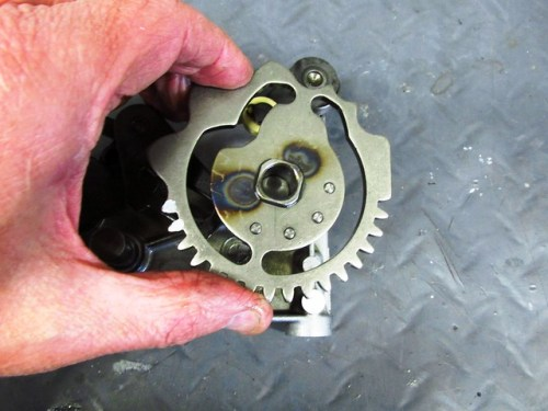 Large Shift Cam Plate Comes Off Shaft