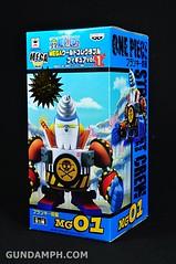 Banpresto One Piece WCF Mega Franky Shogun Review (1)