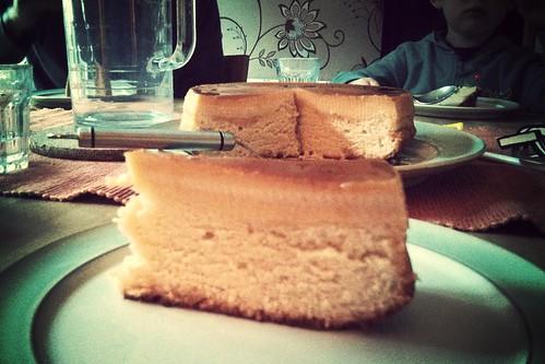 Filipino custard cake ( Leche flan cake)