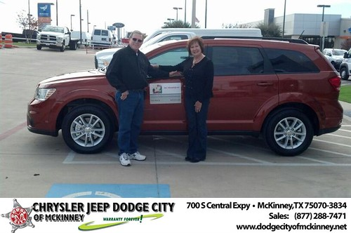 Dodge City McKinney Texas Customer Reviews and Testimonials-Toni Martin by Dodge City McKinney Texas