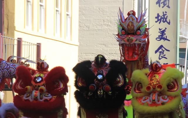 Chinese New Year Parade 2014 at San Francisco Chinatown