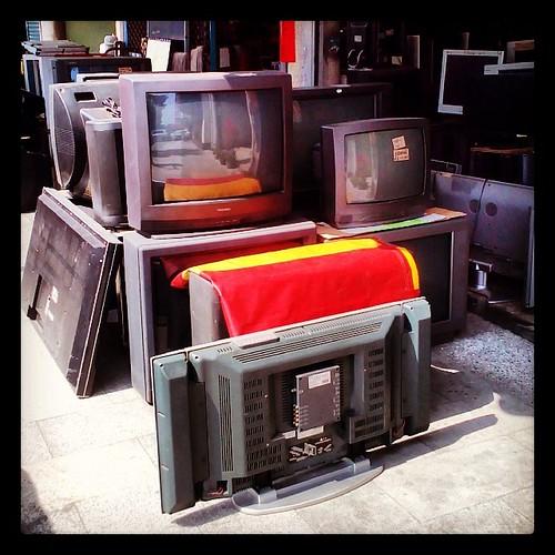 Retire your television. #nantou  #caotun #taiwan