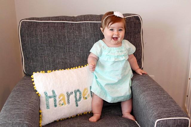 Harper at 9 months