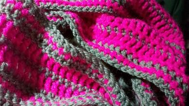 crochet beginner scarf