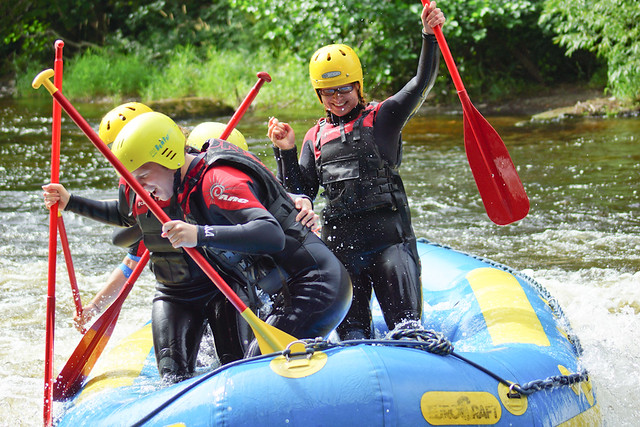 Whitewater Rafting North Wales