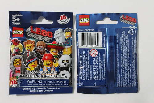 The LEGO Movie Collectible Minifigures (71004)