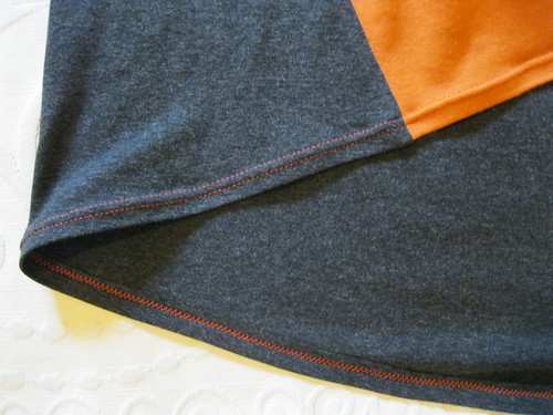 StyleARC Ivy top - high/low hem detail