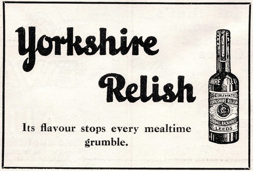 1927 British advertisements.
