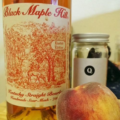 Bourbon & peaches