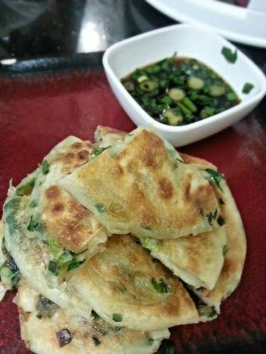 Green onion pancakes w/dipping sauce by pipsyq