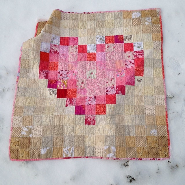 Heart Quilt Complete