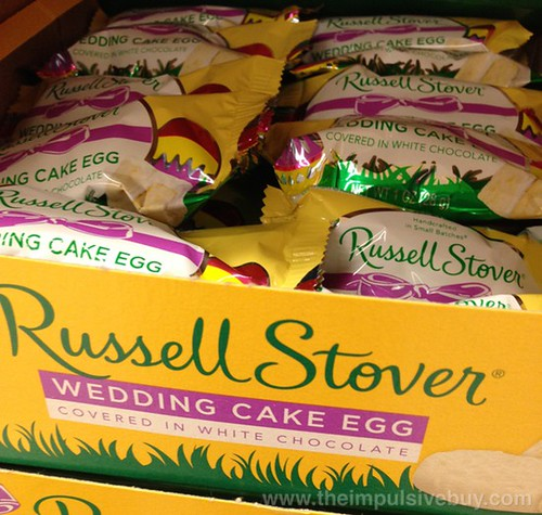 Russell Stover Wedding Cake Egg