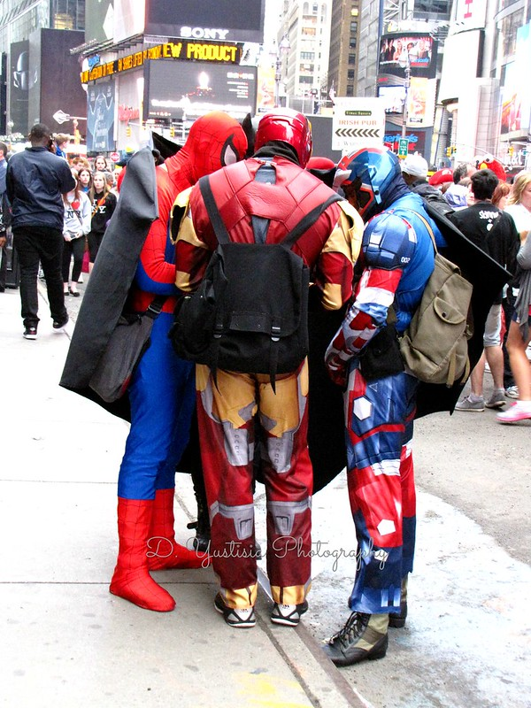 The Gathering of Superheroes