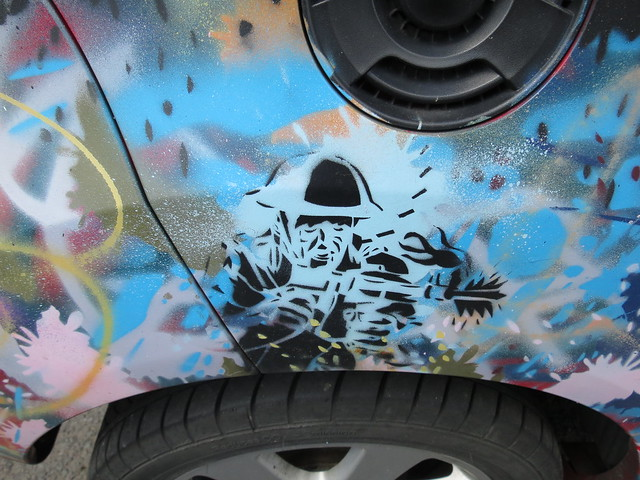 Upfest 2013 - graffiti car