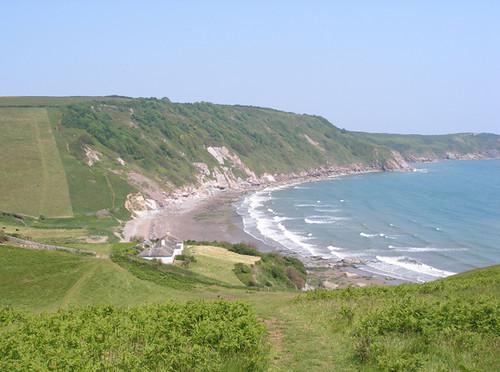 Mansands Beach, South Devon