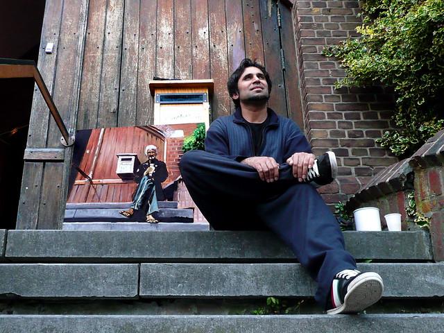 Vluchteling en kunstenaar