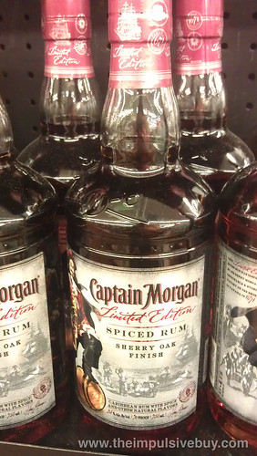 Captain Morgan Limited Edition Sherry Oak Finish Spiced Rum