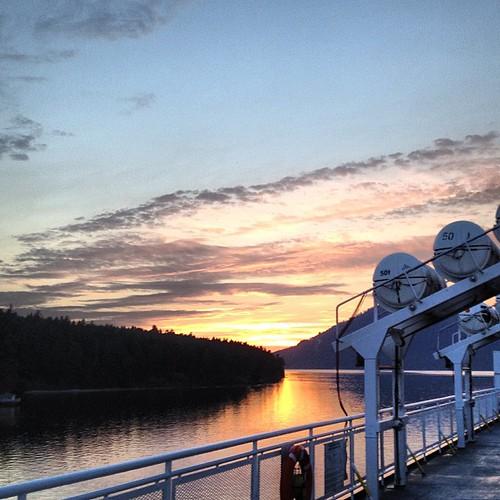 #sunset at Swartz Bay by @MySoDotCom