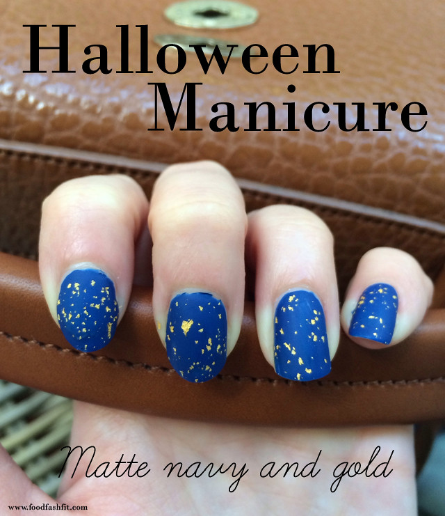 Halloween manicure OPI
