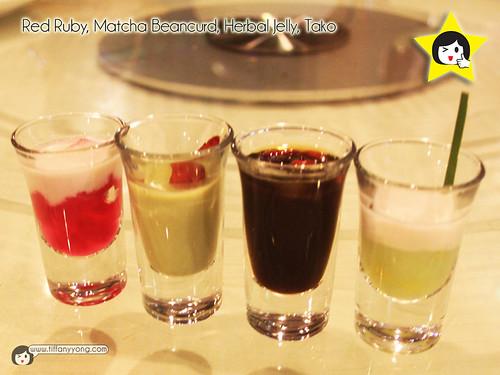 Seafood International Assorted Dessert Shooter
