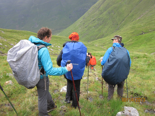 Backpacking in Scotland
