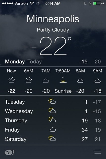 Oh, -22? Is that all? Pssh.