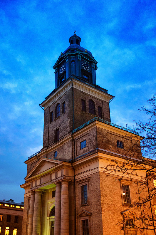 Week 6/52 - Domkyrka at blue hour by Flubie