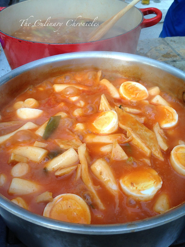 Ddeokbokki - Spicy Rice Cakes