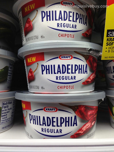 Kraft Chipotle Philadelphia Cream Cheese