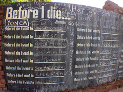 Before they die