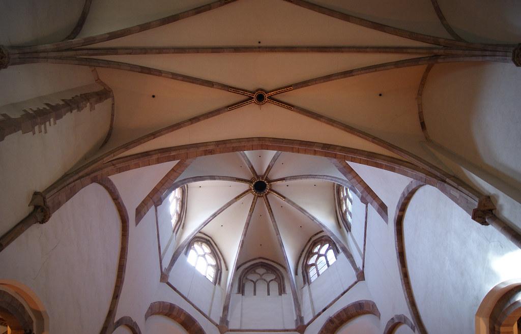 Nef et choeur de l'église Saint-Thomas (temple Saint-Thomas pour les non-Alsaciens)