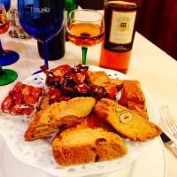 Cantuccini col Vin santo