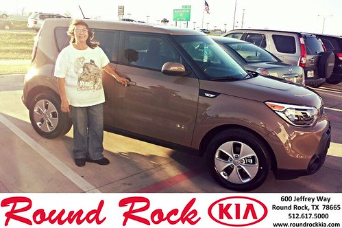 Congratulations to Janey Garza on your #Kia #Soul purchase from Kelly  Cameron at Round Rock Kia! #NewCar by RoundRockKia