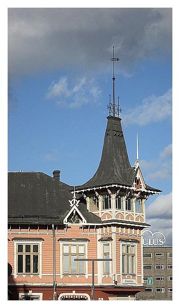 Kuva Nikolainkulman tornista.