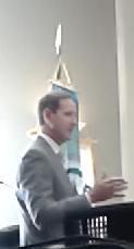 Paul Bowers speaking