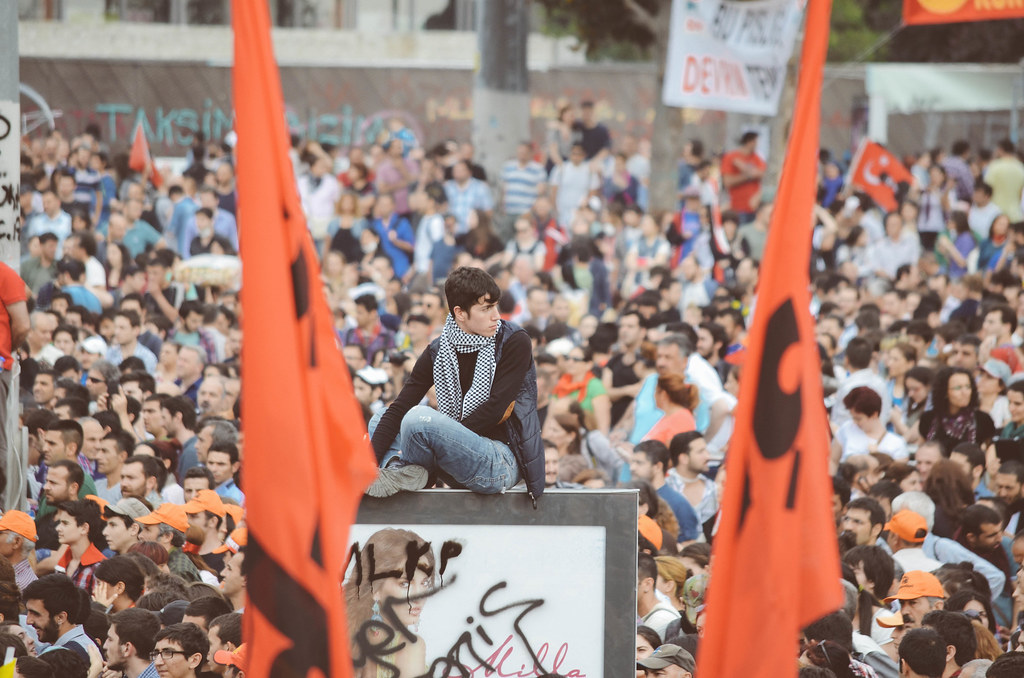 Taksim Crowd